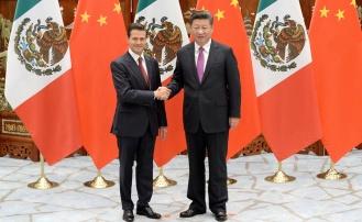 Xi Jinping, Enrique Pena Nieto